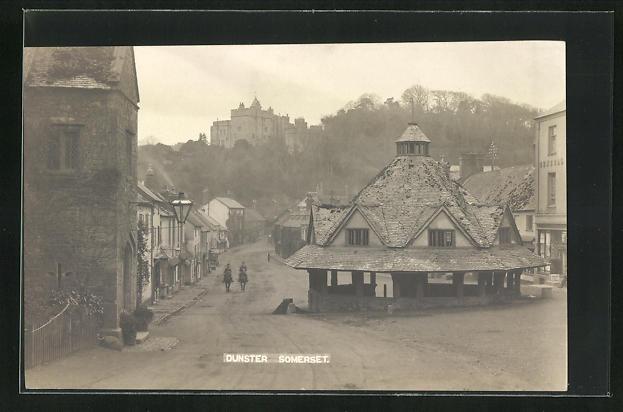 AK Dunster-Somerset, Ortspartie