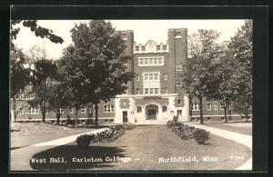 AK Northfield, MN, West Hall, Carleton College