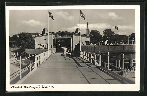 AK Misdroy, Seebrücke mit n