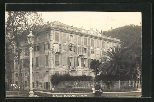 AK Rapallo, Grand Hotel Europa