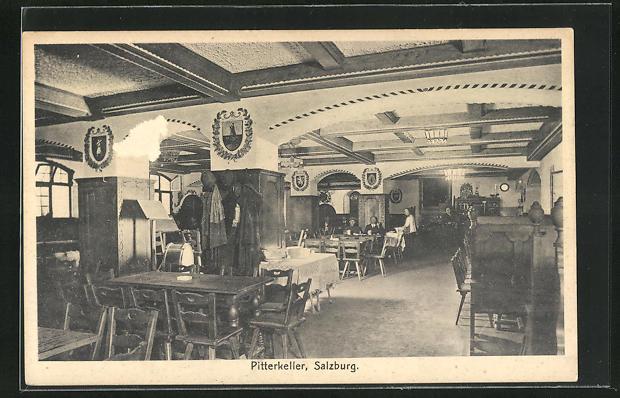 AK Salzburg, Gasthaus Pitterkeller 0