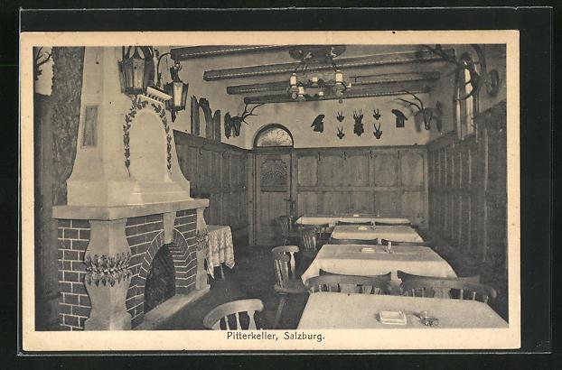 AK Salzburg, Gasthaus Pitterkeller