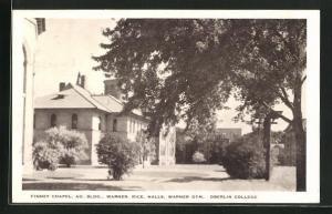 AK Oberlin, OH, Finney Chapel, Ad. BLDG. Warner Rice. Halls, Warner Gym.