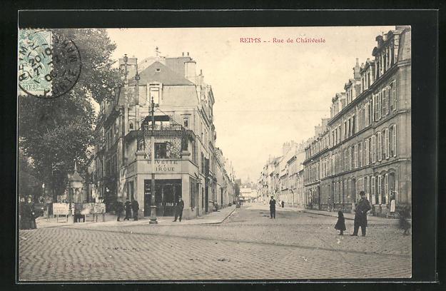 AK Reims, Rue de Chativeste