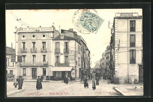AK Perpignan, Rue de la Tet