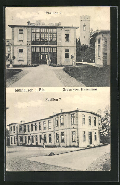 AK Mühlhausen, Hasenrain, Pavillon 2 & 7 0