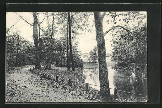 AK Tilsit, Flusspartie im Jacobsruher-Park