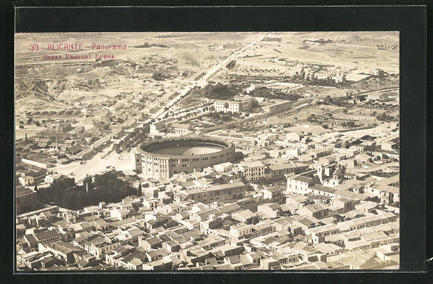 AK Alicante, Panorama, Bazar Pascual Lopez