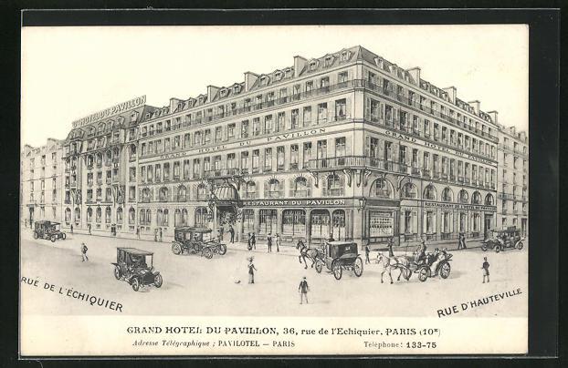 AK Paris, Grand Hotel du Pavillon, 36 Rue de l`Echiquier