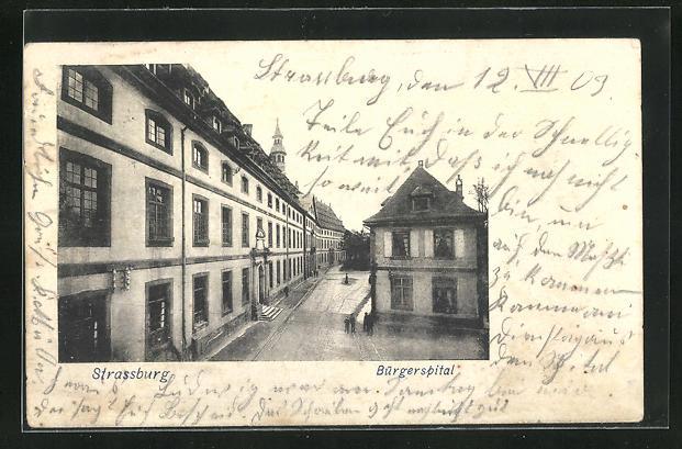 AK Strassburg, Am Bürgerspital