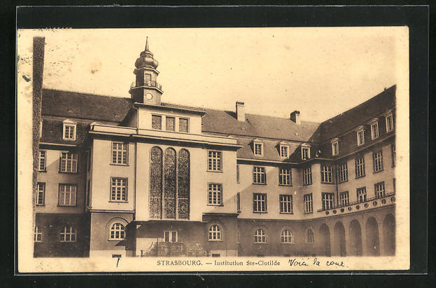 AK Strassburg, Institution St. Clotilde