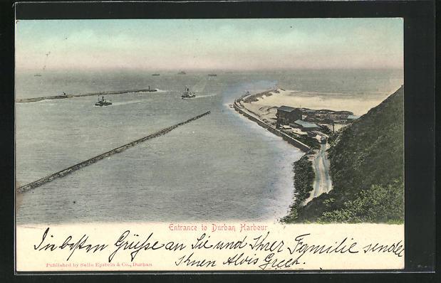 AK Durban, Entrance to Harbour