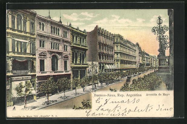 AK Buenos Aires, Avenida de Mayo
