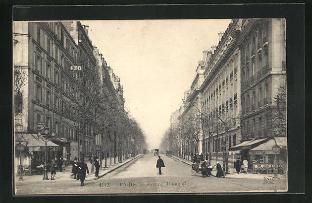 AK Paris, Avenue Malakoff