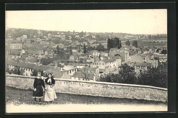 AK Cachan, Panorama pris de la Maison des Saurs