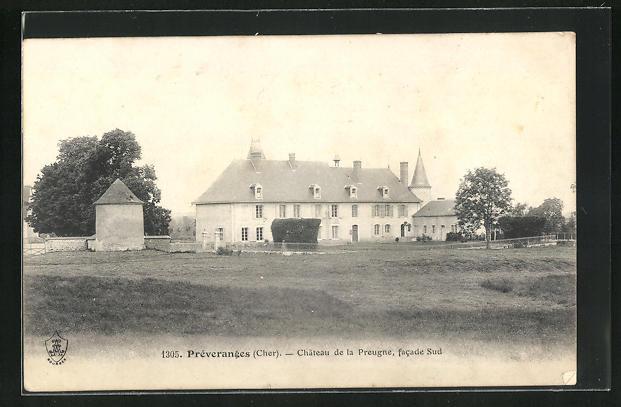 AK Preveranges, Chateau de la Preugne
