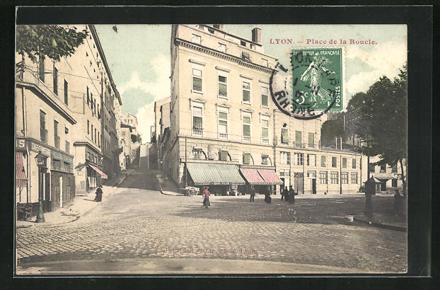 AK Lyon, Place de la Boucle