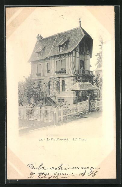 AK Tessé-la-Madeleine, Le Val Normand, Villa