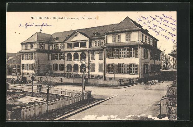 AK Mulhouse, Hopital Hasenrain, Pavillon 31