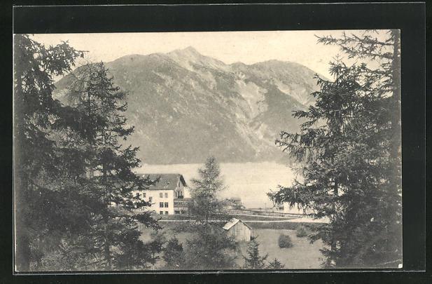 AK Achensee, Gasthof Seespitz 0