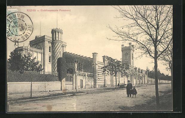AK Reims, Etablissement Pommery
