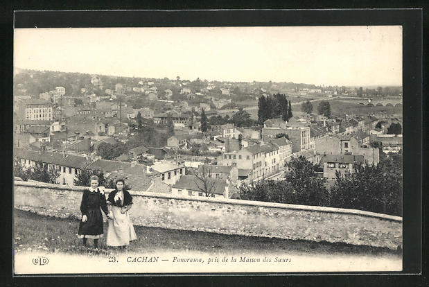 AK Cachan, Panorama, pris de la Maison des Soeurs