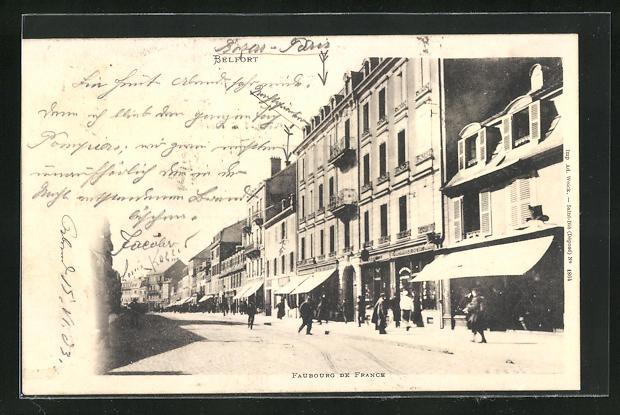 AK Belfort, Faubourg de France et Boutiques