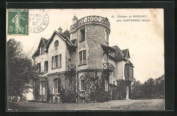 AK Hartennes, Chateau du Boschet