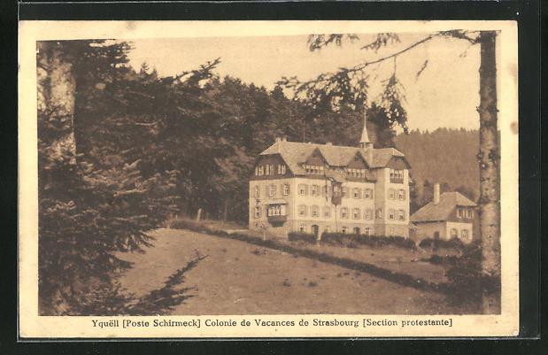 AK Yquell, Colonie de Vacances de Strasbourg