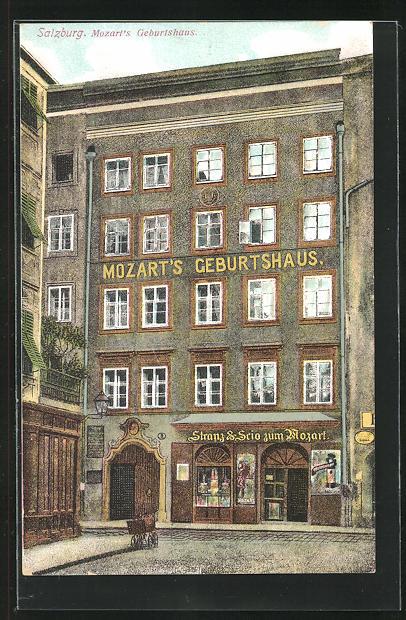 AK Salzburg, Mozart`s Geburtshaus