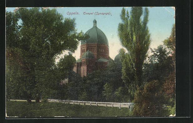 AK Oppeln, Tempel, Synagoge