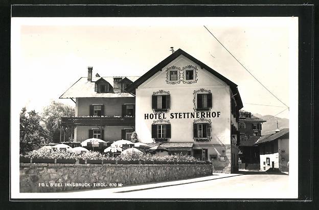 AK Igls, Ansicht vom Hotel Steinerhof 0