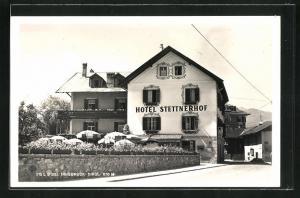 AK Igls, Ansicht vom Hotel Steinerhof