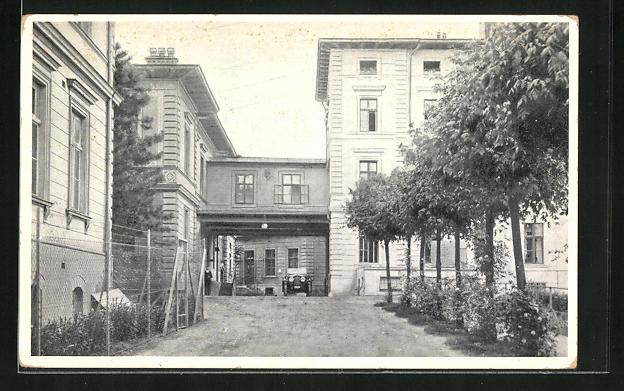 AK Wien, Rudolfinerhaus, Billrothstr. 78, Zufartstrasse 0
