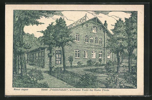AK Heikendorf-Kiel, Hotel Friedrichshöhe 0