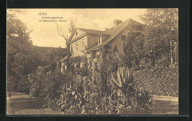 AK Jena, Direktiosgebäude im Botanischen Garten 0