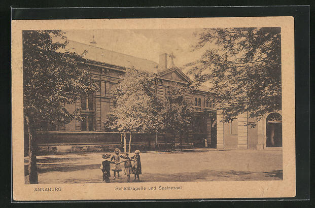 AK Annaburg, Schlosskapelle & Speisesaal 0
