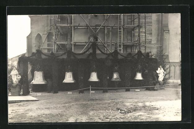 Foto-AK Wil, Glockenweihe St. Peter 1932