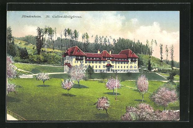 AK St. Gallen-Heiligkreuz, Blindenheim