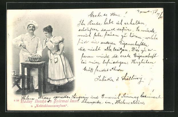 AK Kuktakisasszonyban, Koch beim rühren