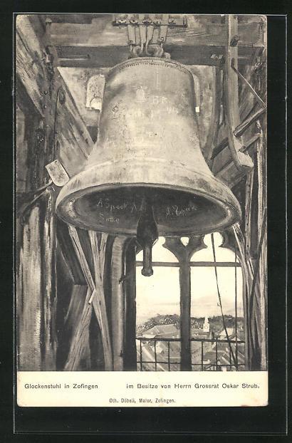 AK Zofingen, Glockenstuhl