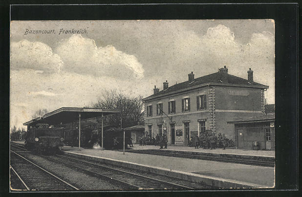 AK Bazancourt, Partie am Bahnhof