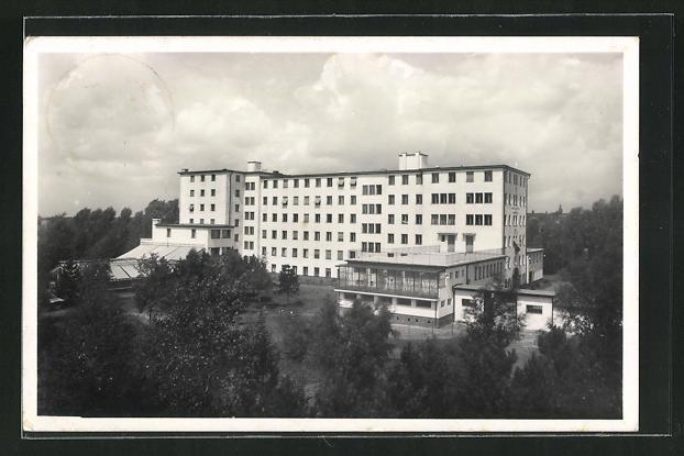 AK Berlin-Buch, Kaiser-Wilhelm-Institut, Lindenberger Weg