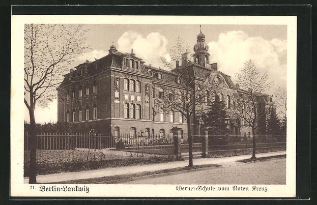 AK Berlin-Lankwitz, Werner-Schule vom Roten Kreuz