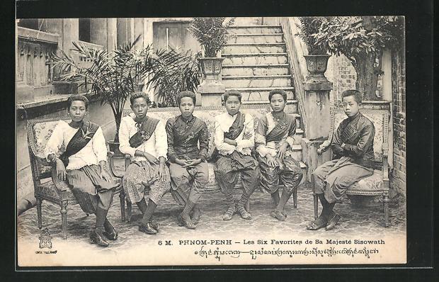 AK Phnom-Penh, Les Six Favorites de Sa Majesté Sisowath, Favoriten des Königs Sisowath