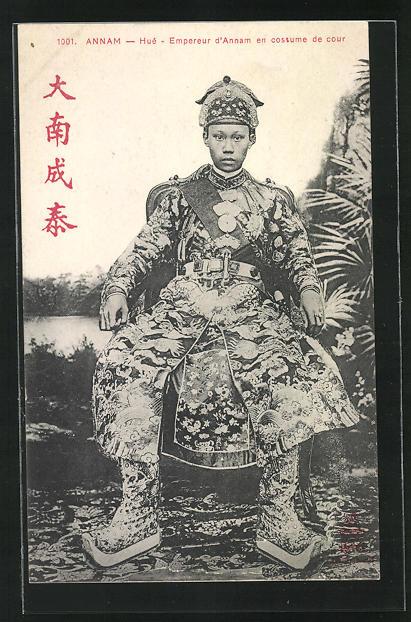 AK Annam, Hué, Kaiser Thanh Thai