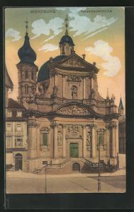 AK Würzburg, Neumünsterkirche