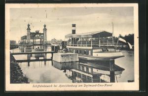 AK Henrichenburg, Schiffshebewerk am Dortmund-Ems-Kanal