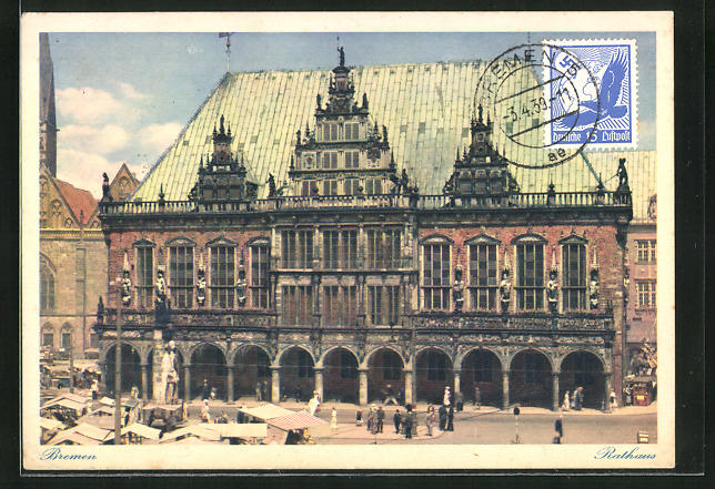 AK Bremen, Rathaus