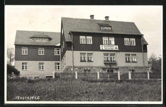 AK Jöhstadt i. E., Jugendherberge Claus von Pape mit